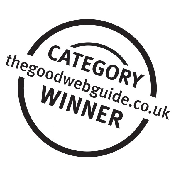 Thegoodwebguide.co.uk Category Winner